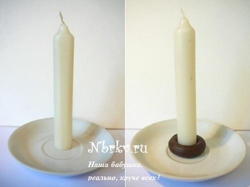 Как сделать свечу ярче 868